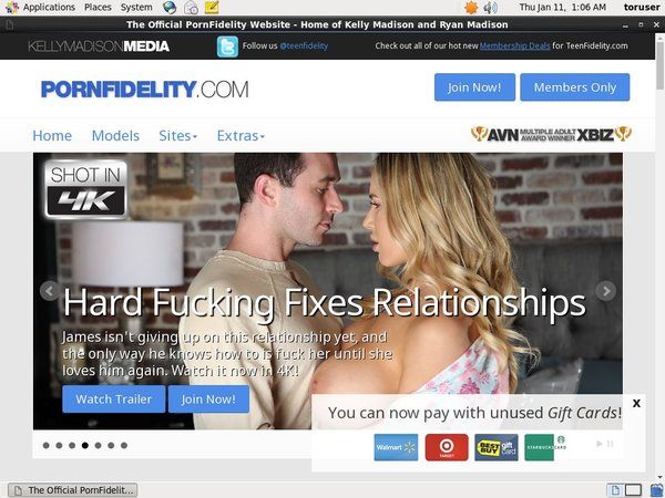 Porn Fidelity With EUDebit